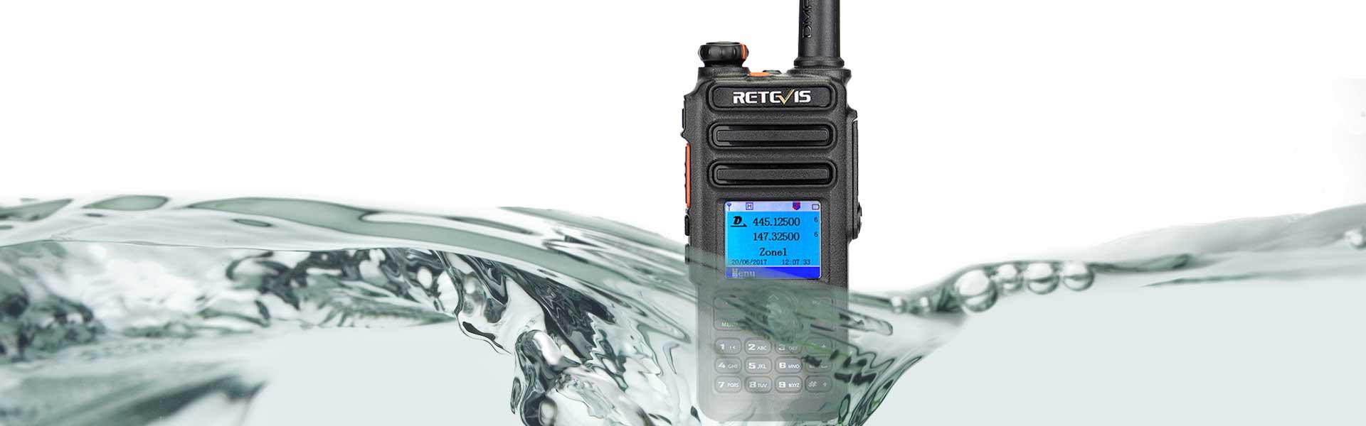 Retevis RT82 Dual band DMR Digital Radio
