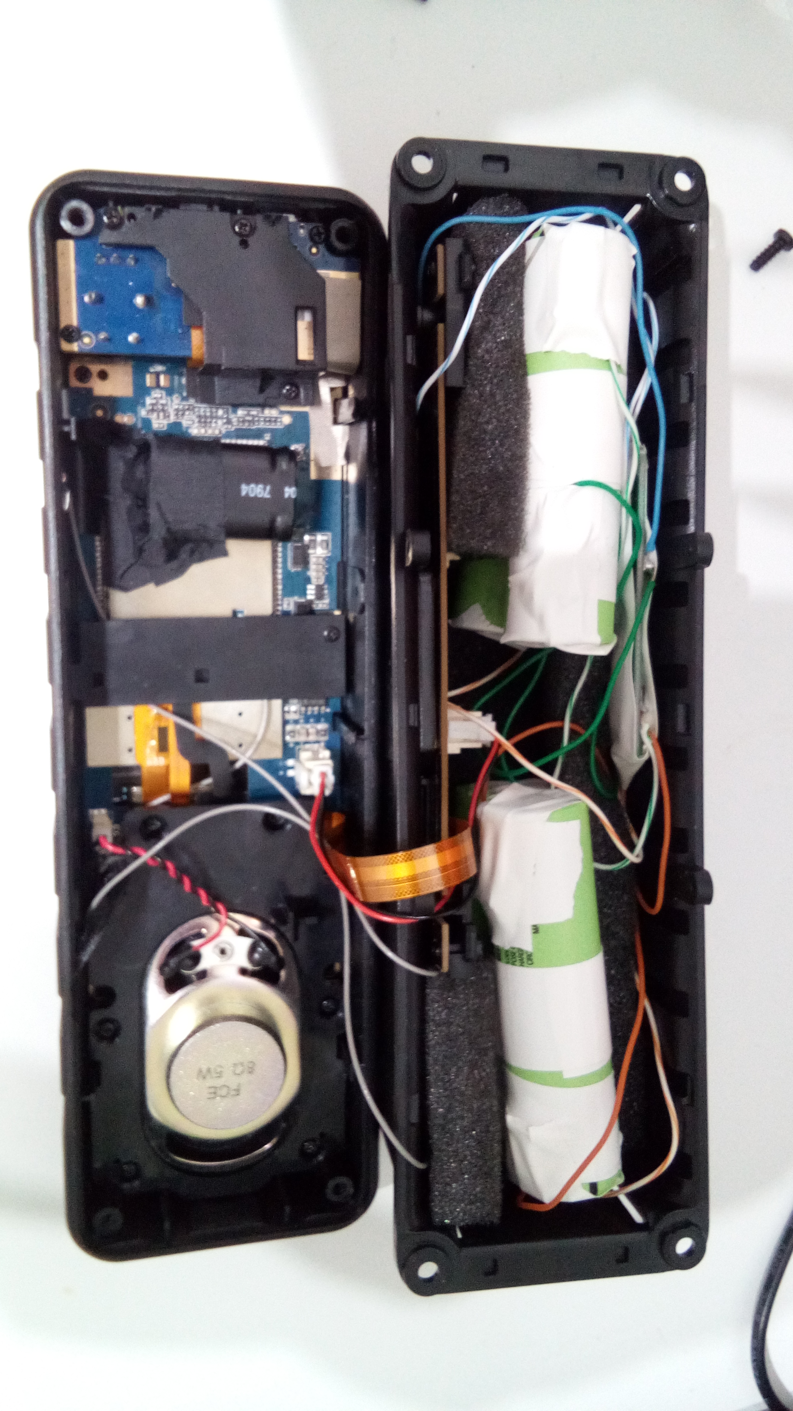 Add An Internal Battery And Gps To Inrico Tm 7 By Ok8nwo Network Charger Wiring Diagram Antenna Modification