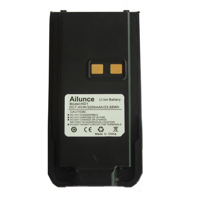 Ailunce HD1 Dual band DMR (VHF+UHF) with GPS