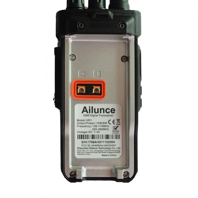 Ailunce HD1 Dual band DMR (VHF+UHF)