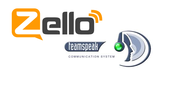 Echolink, IRN (TS3) and Zello at the same time – Network Radios