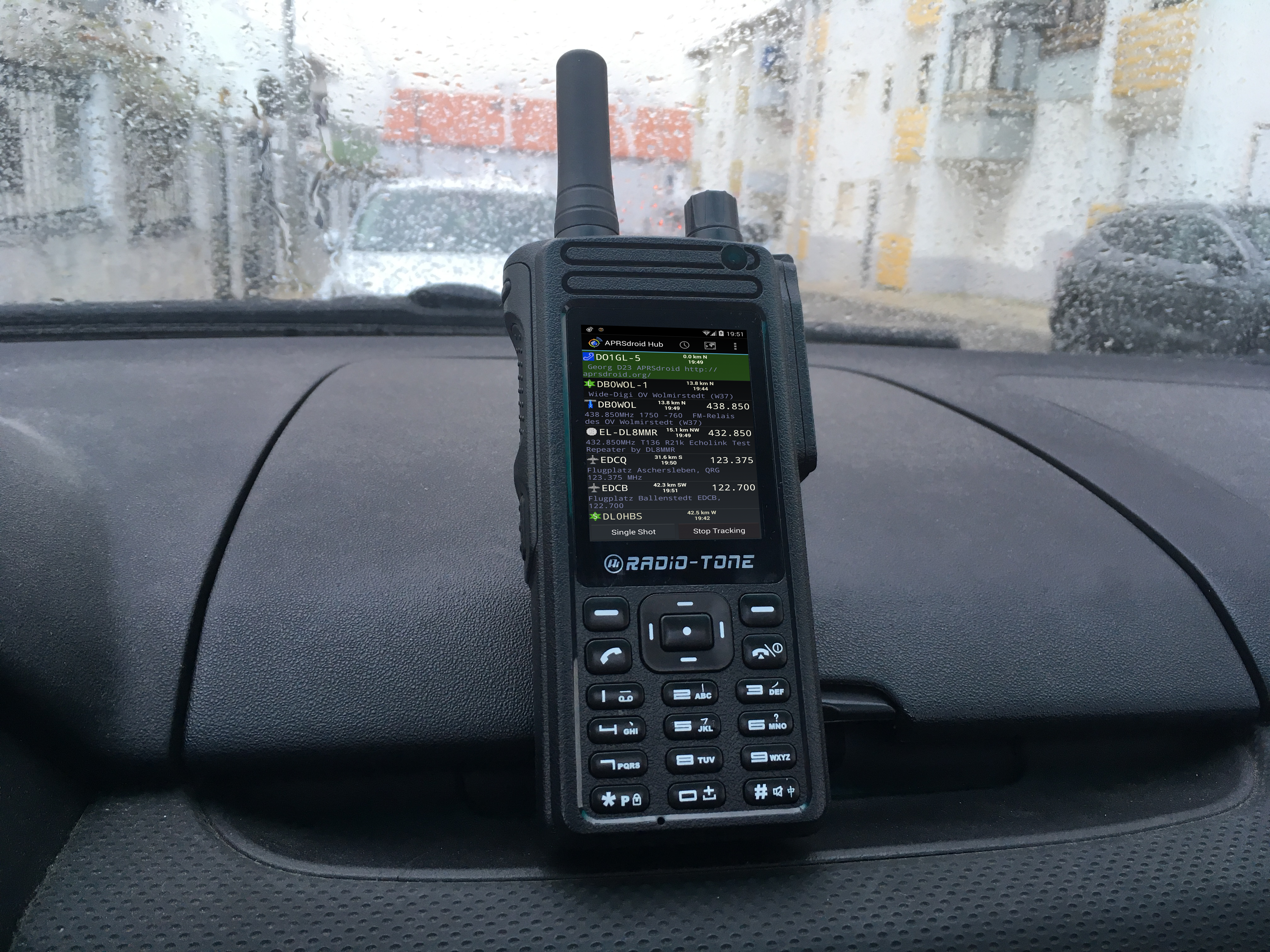 Radio-Tone RT4 with smooth APRS operation – Network Radios