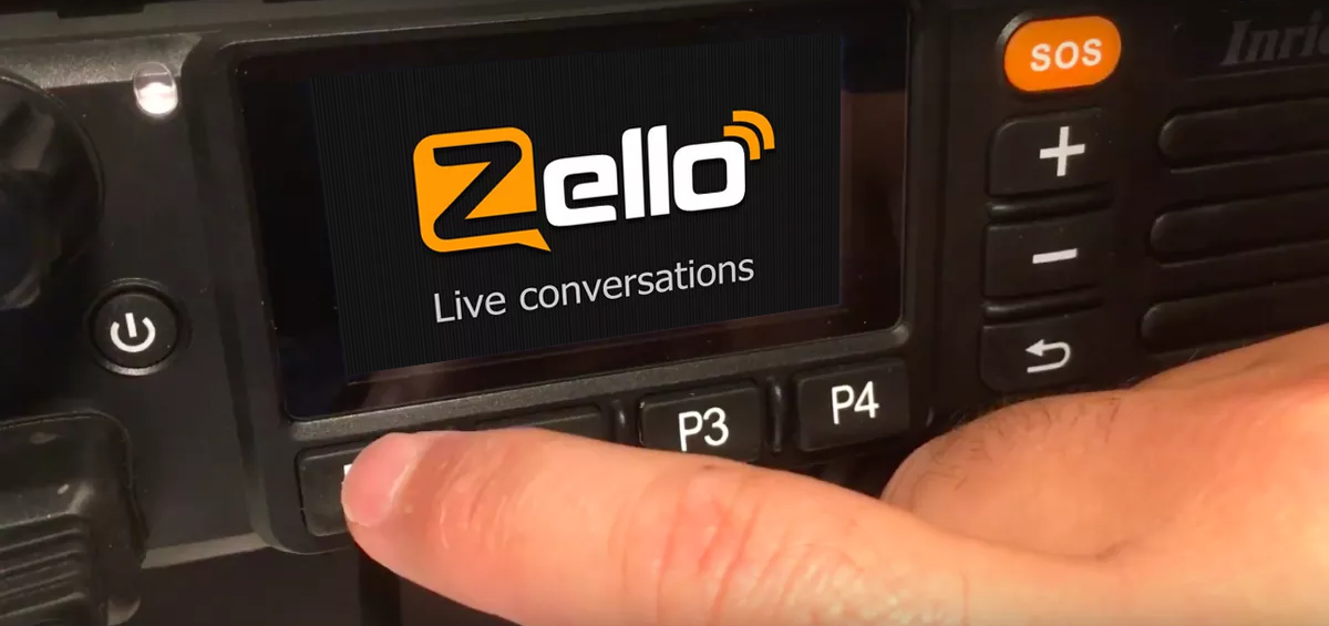 Zello operation – Network Radios